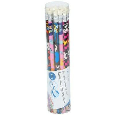 Topwrite Bleistift mit Radierer HB 20tlg.