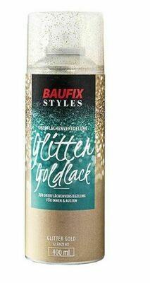 Baufix Glitter Goldlack
