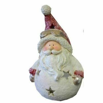 CHAMP Windlicht-Figur Weihnachtsmann