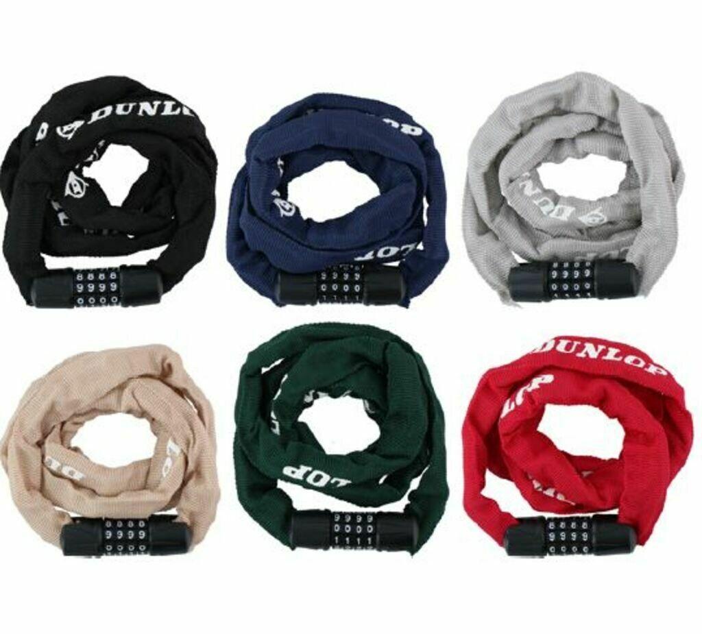 Dunlop Zahlenkettenschloss