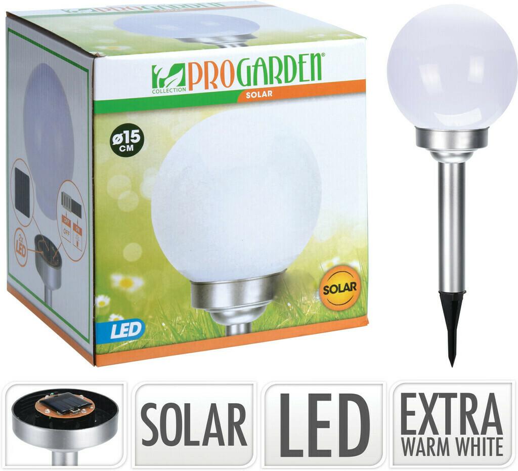 Pro Garden Kugel-Solarlampe