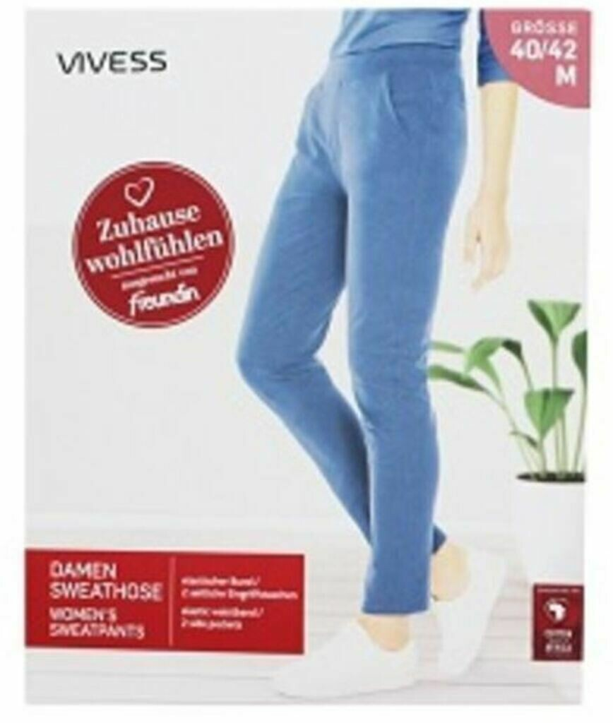 VIVESS Damen Sweat-Hose