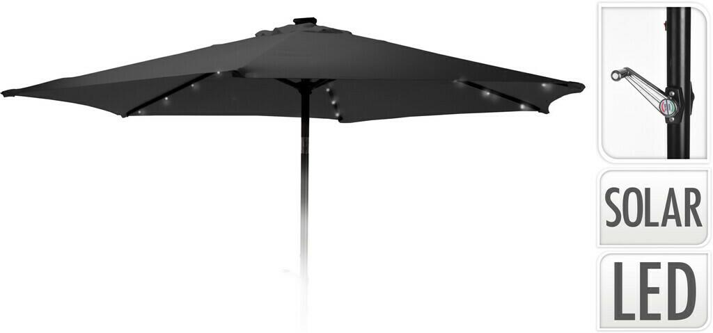 Pro Garden Sonnenschirm Solar LED, 270 cm