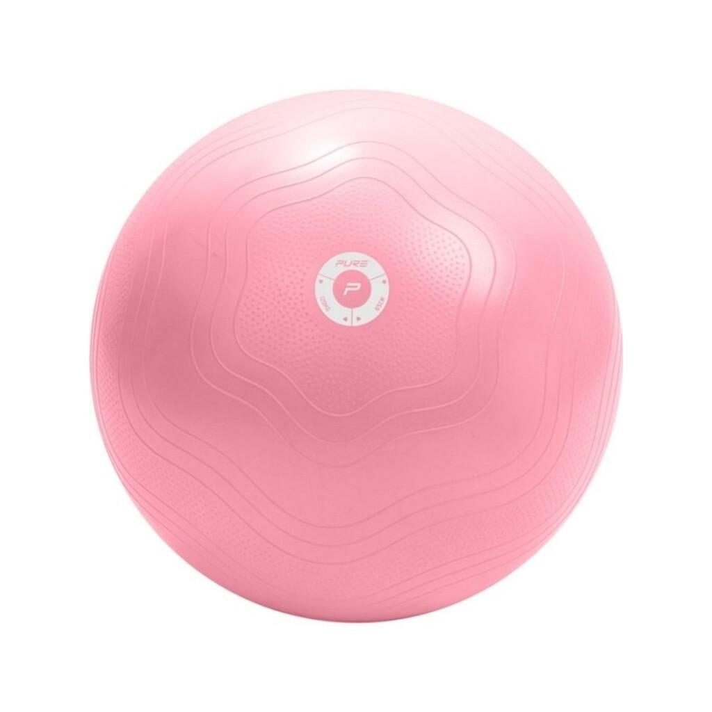 Pure2improve Gymnastikball 65cm inkl. Pumpe
