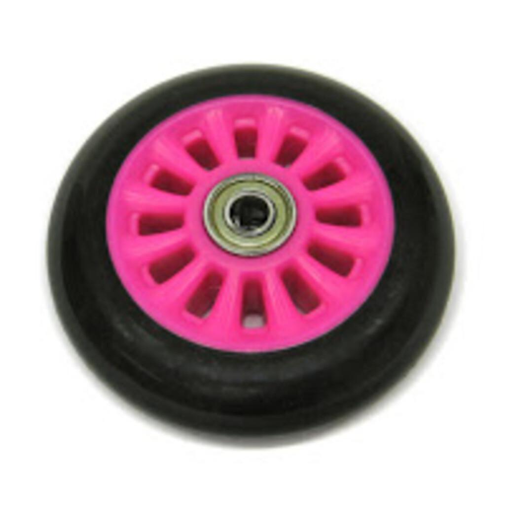 Hudora ET 1 Ersatzrad hinten, pink 100 mm, mit Kugellager (EOL)