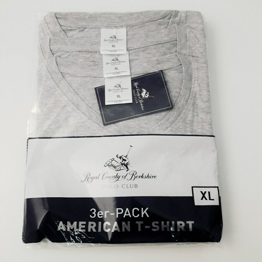 Polo Club T-Shirt 3er Pack