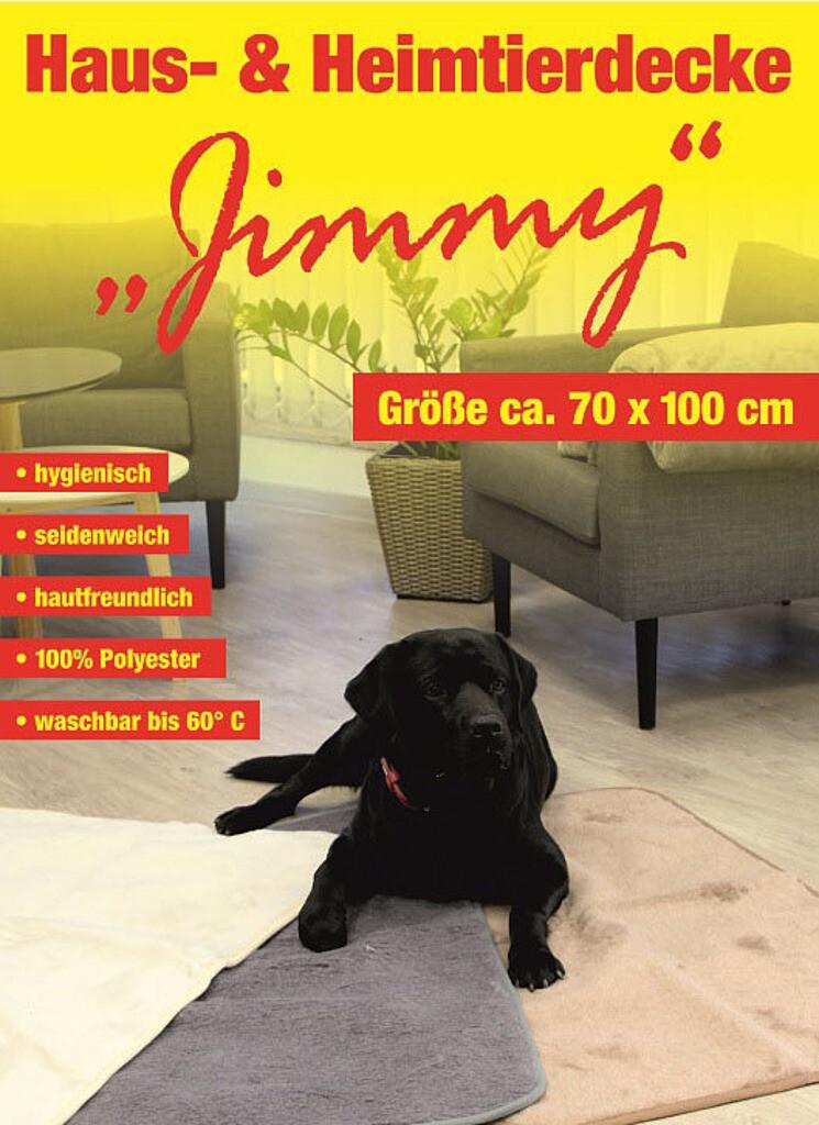 """CHAMP Heimtierdecke """"Jimmy"""""""
