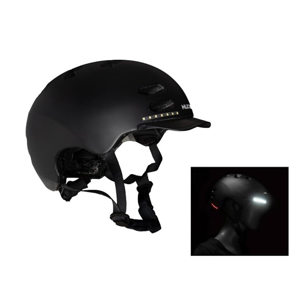 Hudora Skaterhelm LED, Gr. M