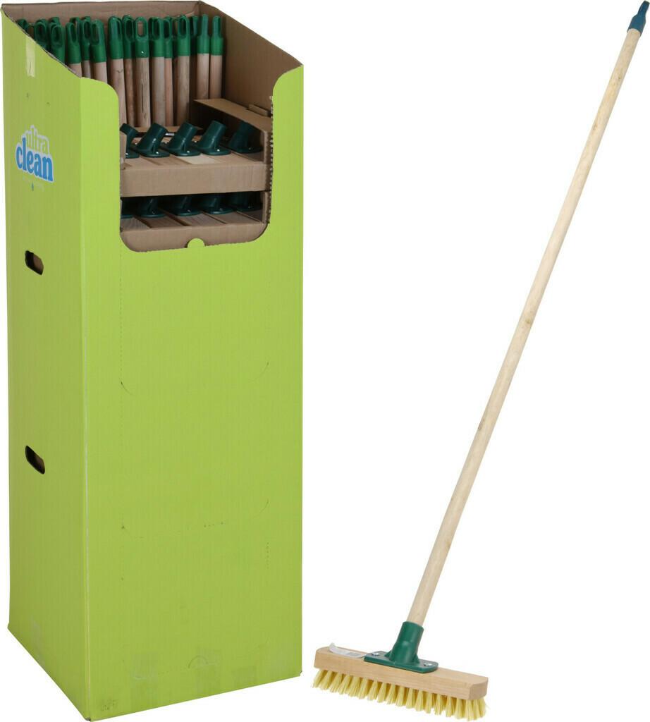 ultra clean Schrubber mit Holzstiel