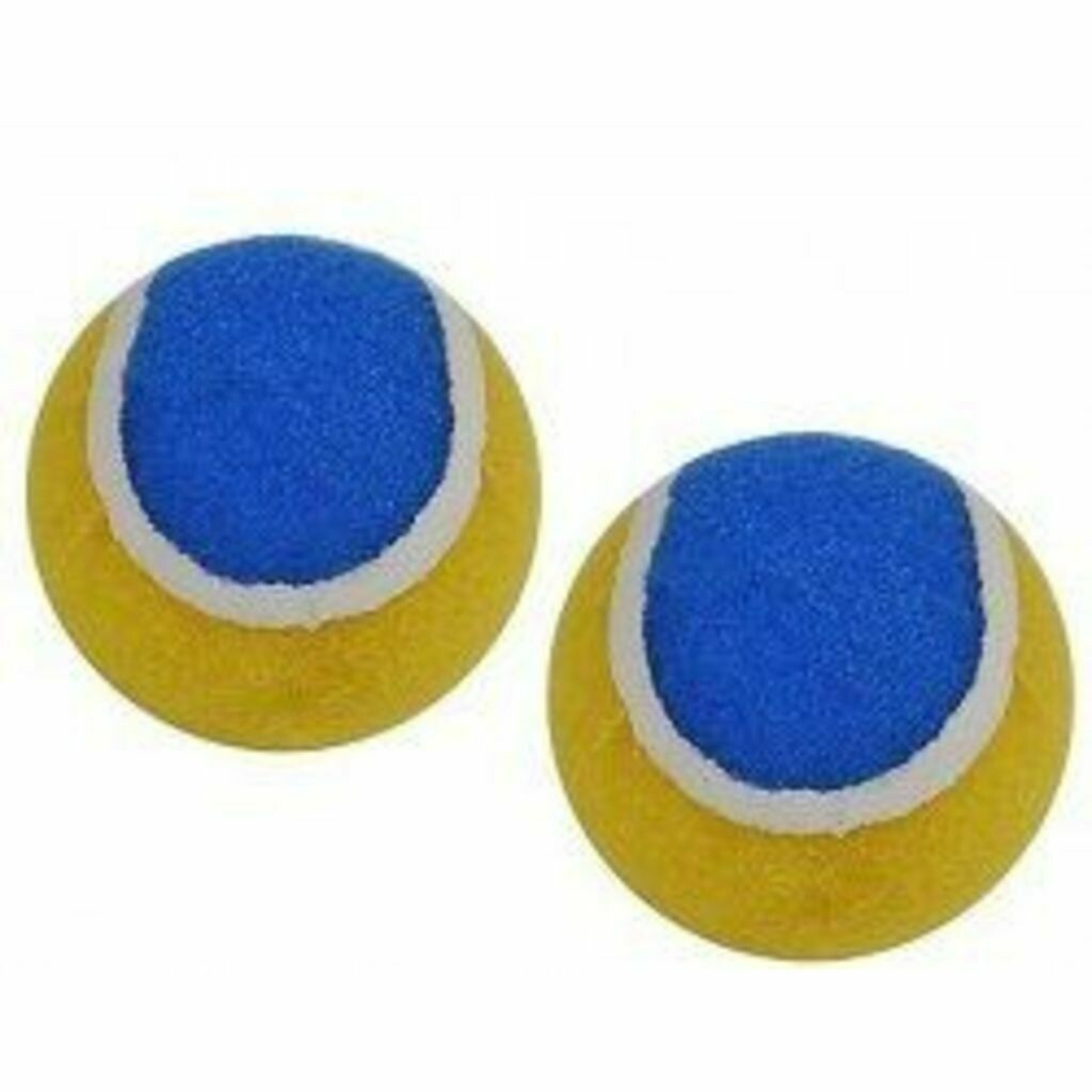 Hudora 2 Ersatzbälle für Klettballspiel 3.0