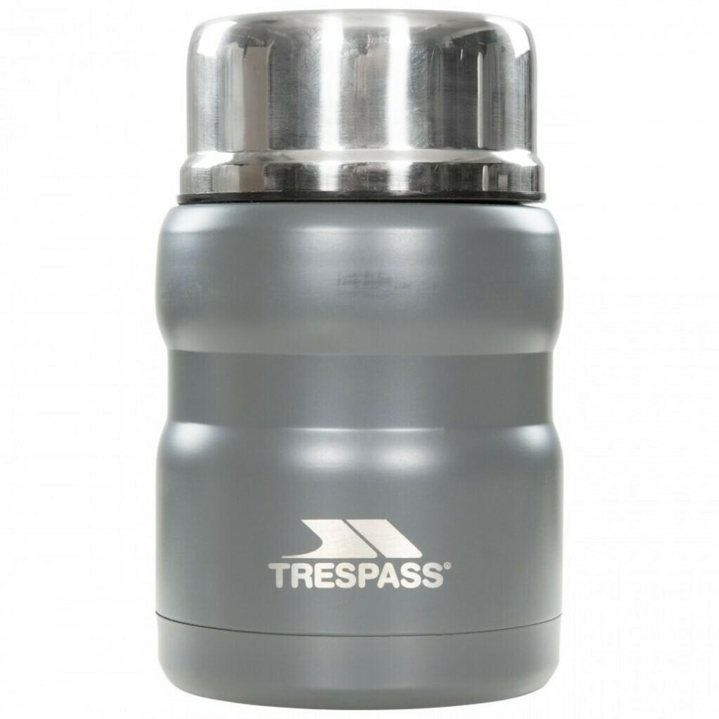Trespass SCRAN - Edelstahl-Isolierflasche mit Löffel