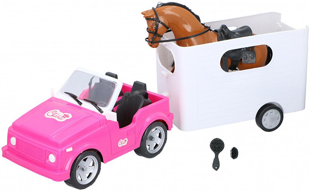 Eddy Toys Pferdetransport Set 5tlg.