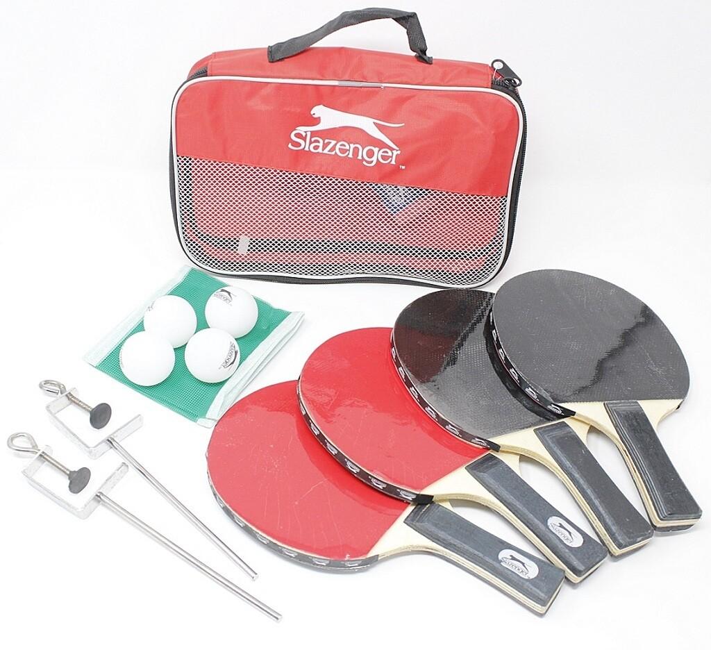 Slazenger Tischtennis-Set Promo 10tlg.