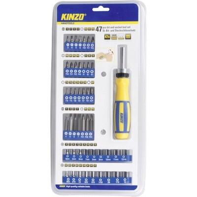 Kinzo Bit- und Steckschlüsselsatz 47tlg.