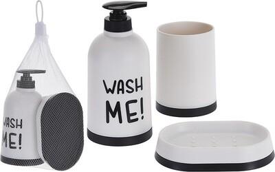 "CHAMP Badezimmerset 3tlg ""Wash me!"""