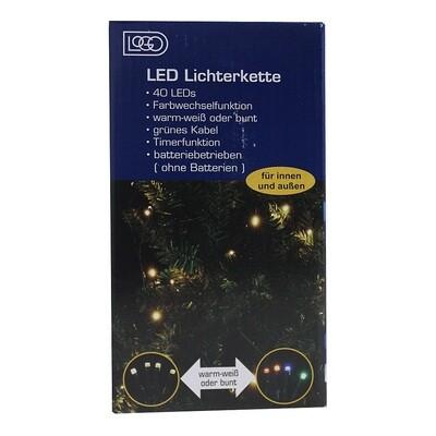 CHAMP LED Mini Lichterkette 40er