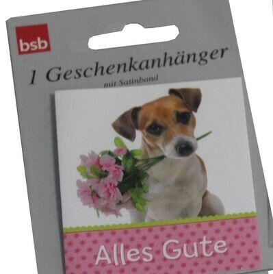 "bsb Geschenkanhänger 1er ""Hund"""