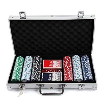 CHAMP Poker Set 300tlg mit Aluminiumkoffer