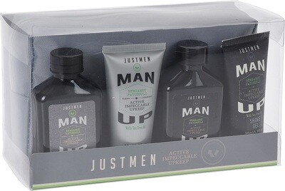 JUSTMEN Wellness-Set für Männer 5tlg.