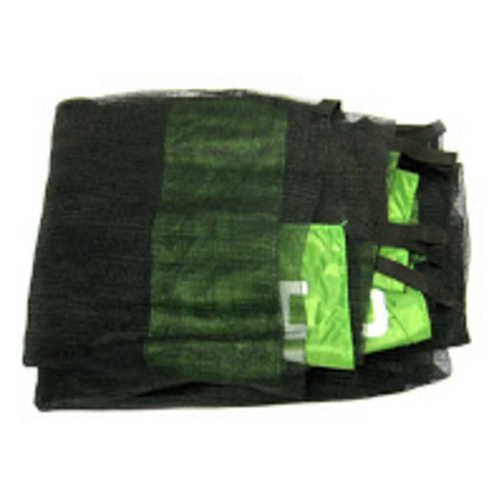 Hudora ET 1 Fangnetz (Sicherungsnetz) für Family Trampoline ∅ 400 cm, grün