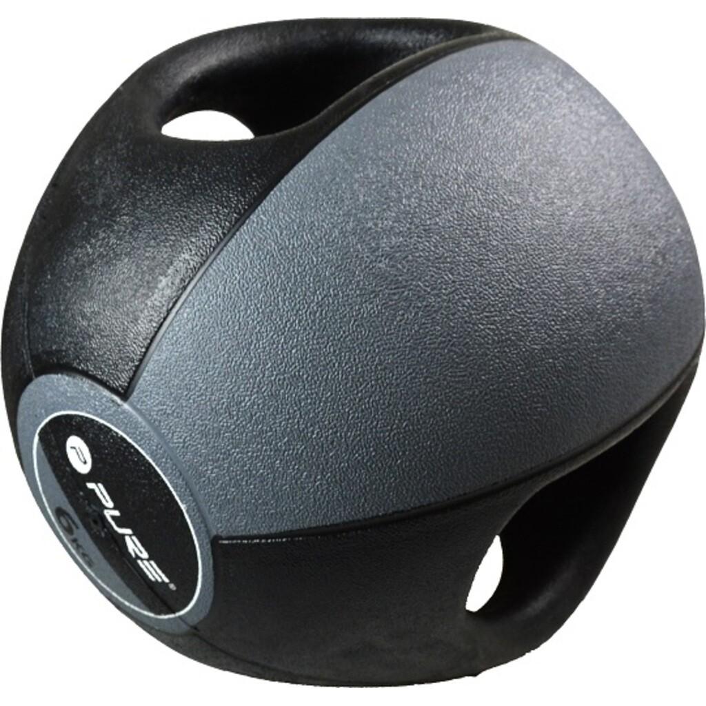 Pure2improve Medizinball mit Handgriffen