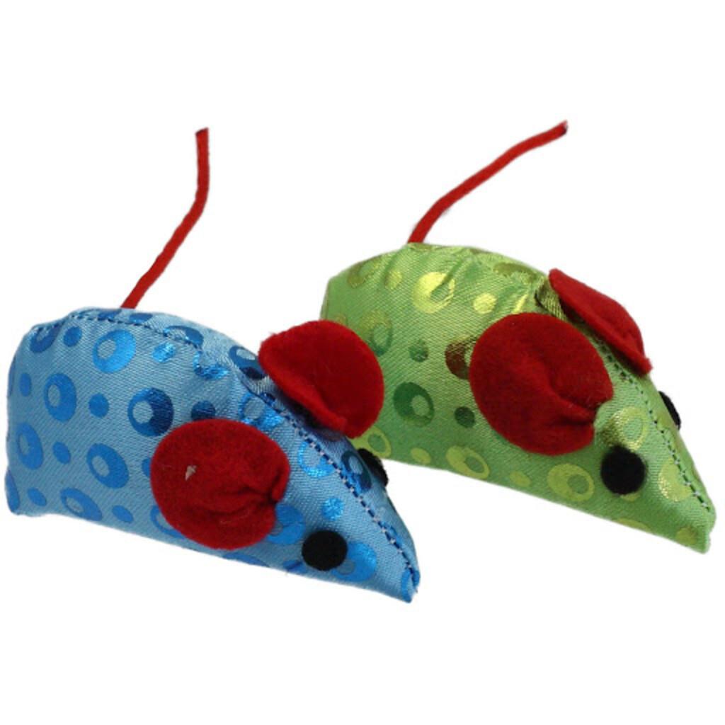 Pet Toys Katzenspielzeug 2tlg Maus & Katzenminze