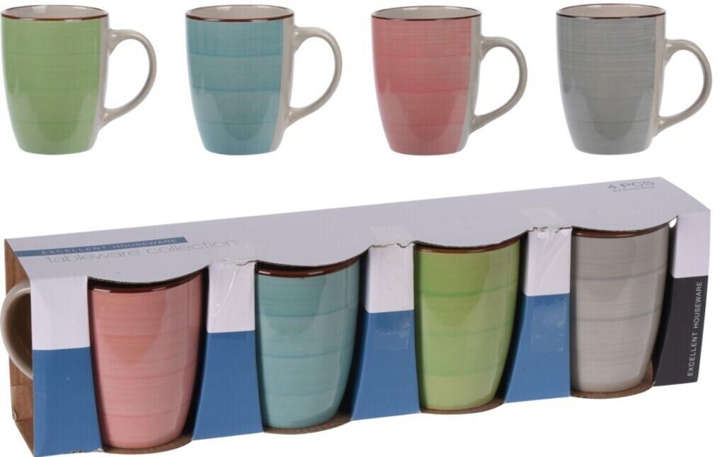 CHAMP Tassen für Kaffee/Tee 4-er Set