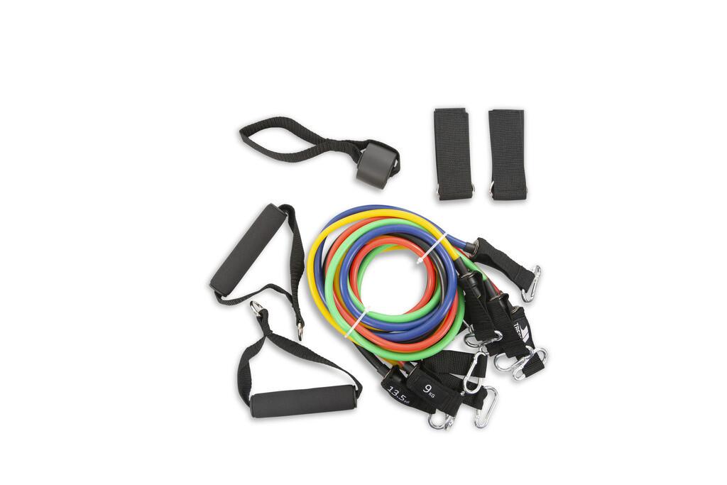 Trespass RIPPED - Fitnessbänder Set (5 Stk. + Zubehör)