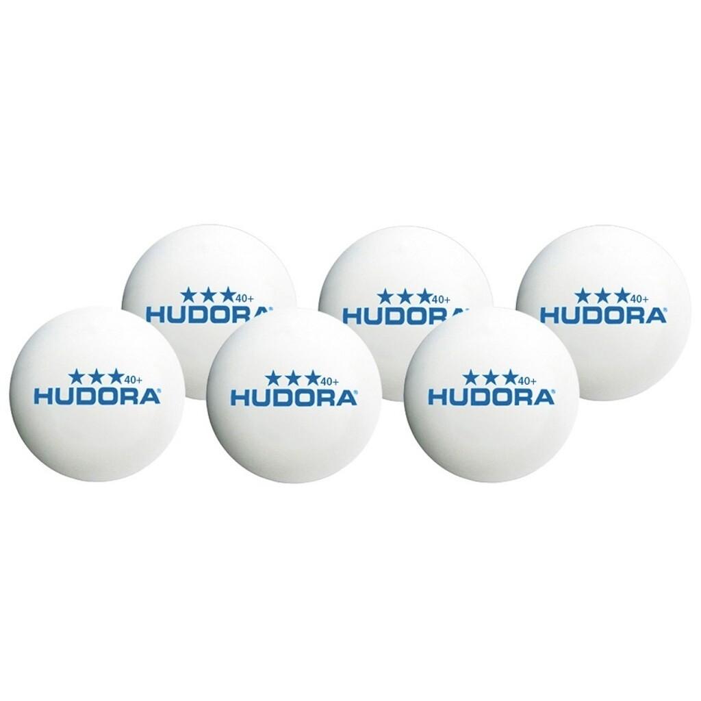 Hudora Tischtennisball*** 40+, 6 Stück