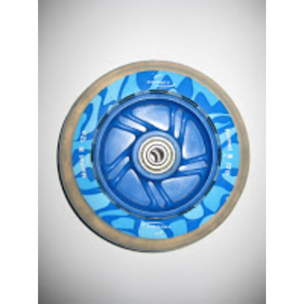 Hudora ET 1 Rad 120 mm inkl. Lager , blau (EOL)