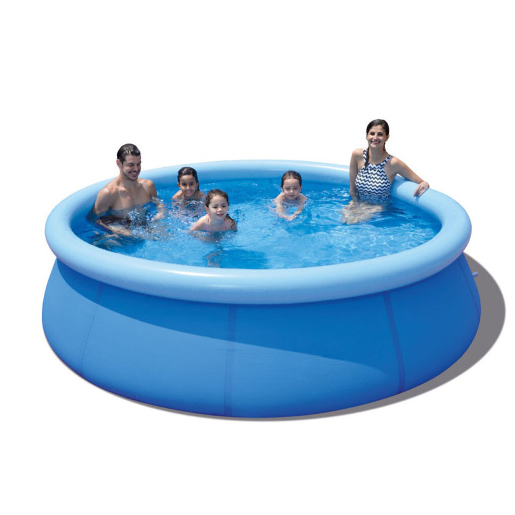 Jilong Runder Pool mit Filterpumpe