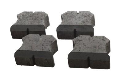 Glatz Gewichte-Set 4Stk. 70KG