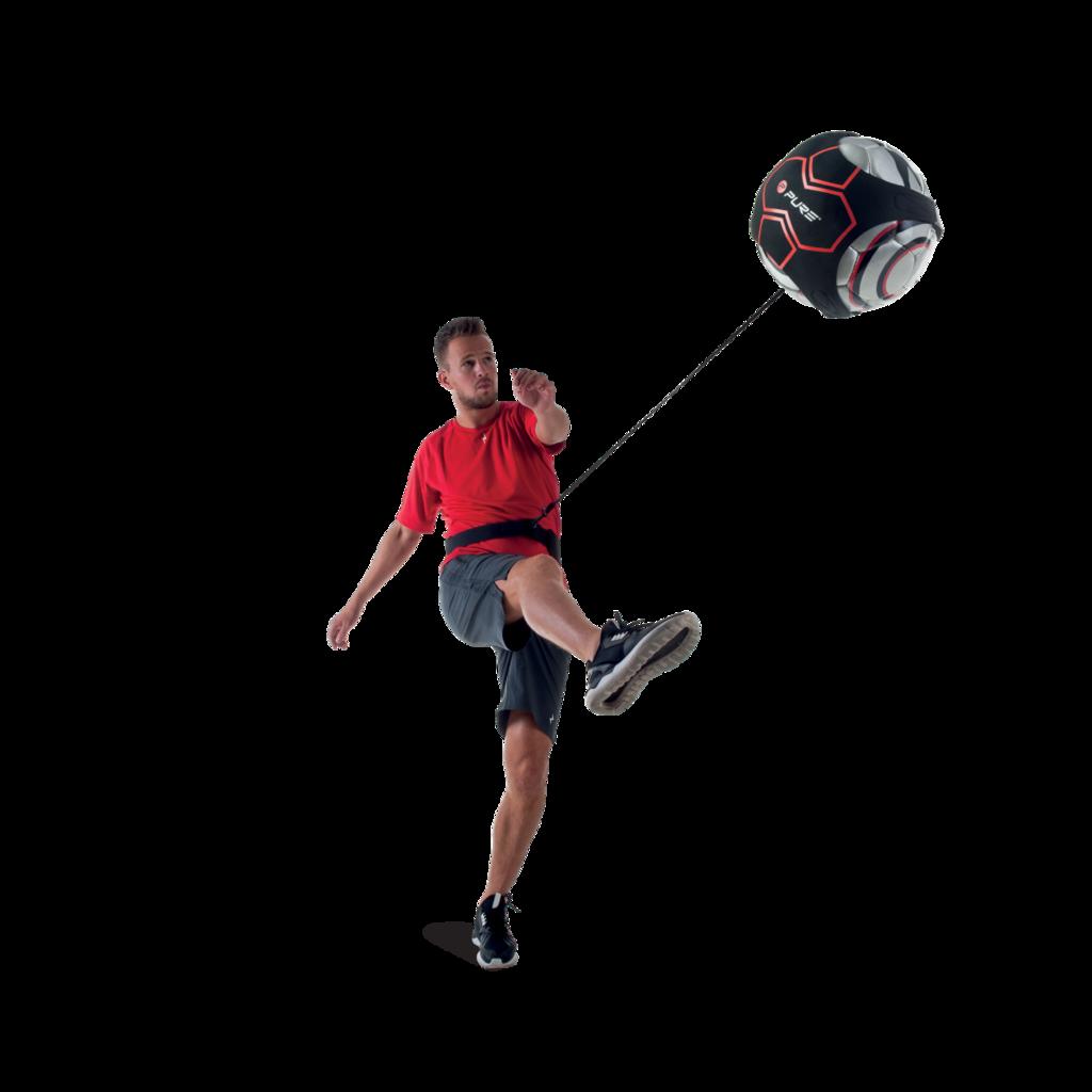 Pure2improve Fussball Solo Schusstrainer