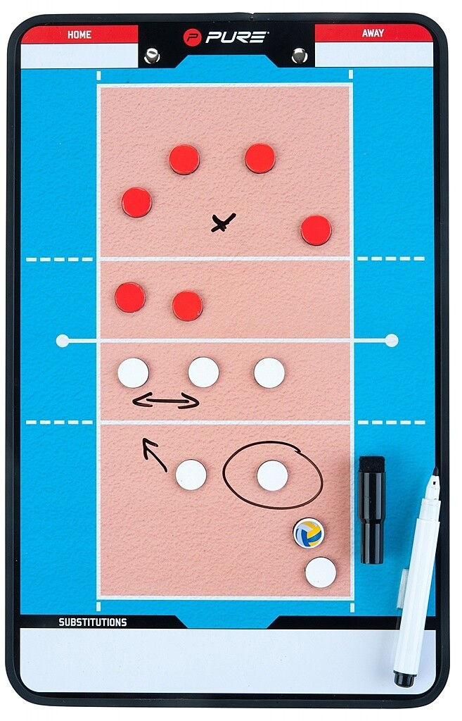 Pure2improve Trainingsboard- Volleyball
