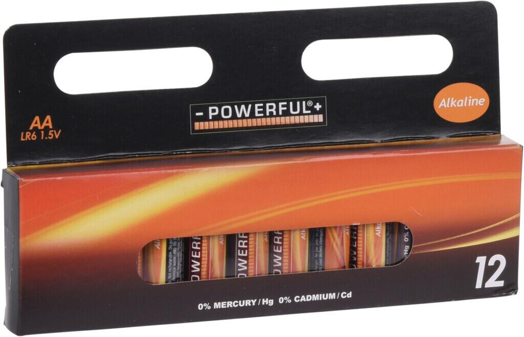 -POWERFUL+ Batterien 12 Stk. LR6/AA