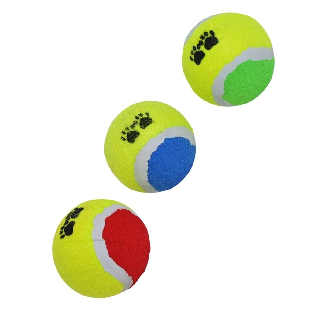 Pet Toys 3er Set Tennisbälle für Hunde