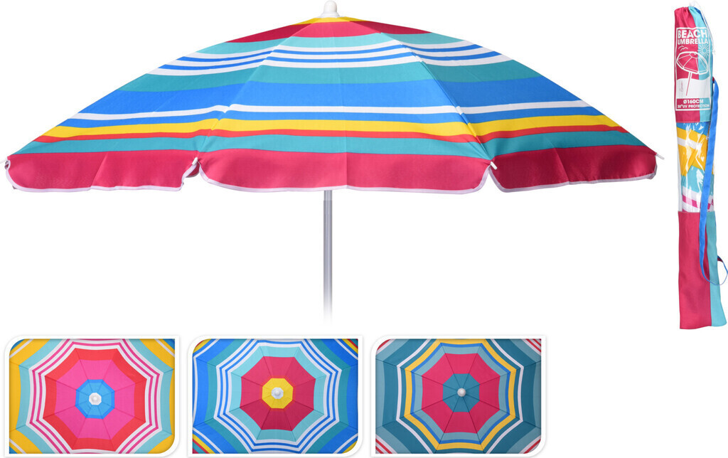 Probeach Strandsonnenschirm, 143,5 cm