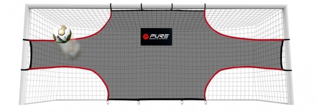 Pure2improve Fussballtor Trainingsnetz