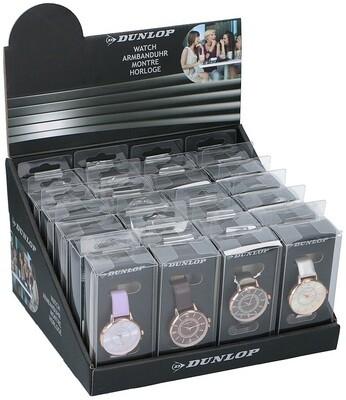 Dunlop Damen Armbanduhr mit PU-Band