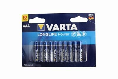 VARTA Batterie Longlife Power AAA 10 Stück