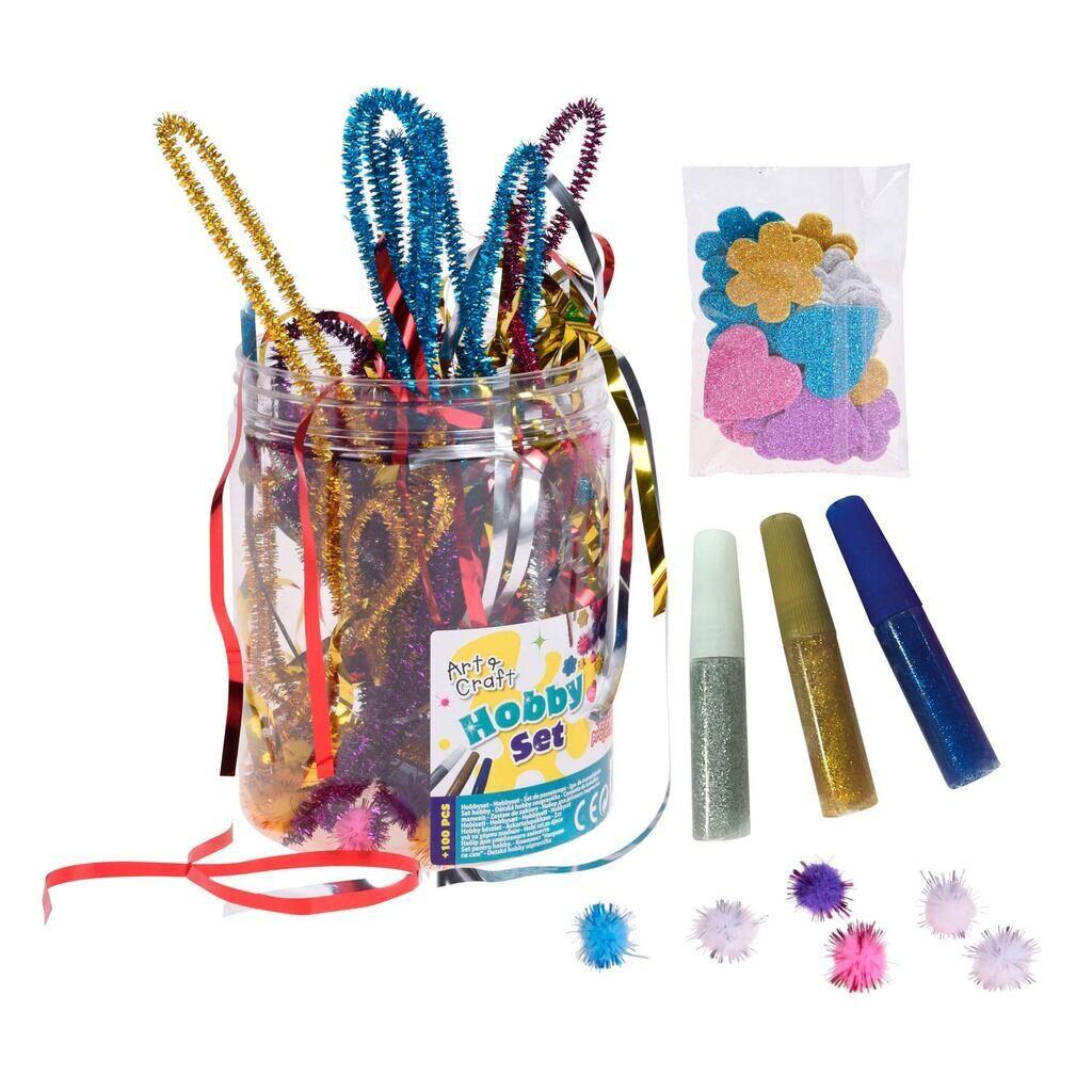 Art & Craft Hobby Set 100 teilig