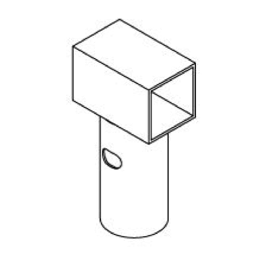 Hudora ET 1 Rahmenverbinder
