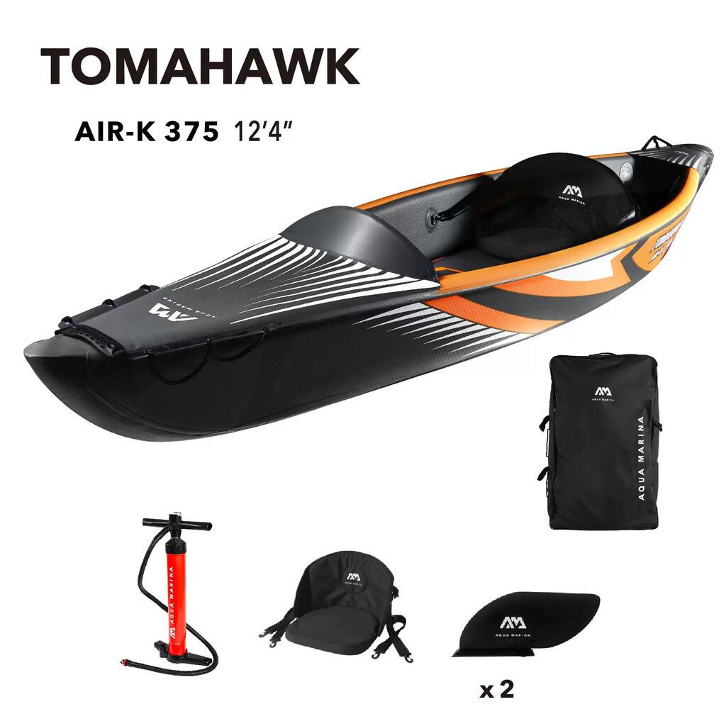 Aqua Marina TOMAHAWK AIR-K 375 1-person DWF High-end canoe