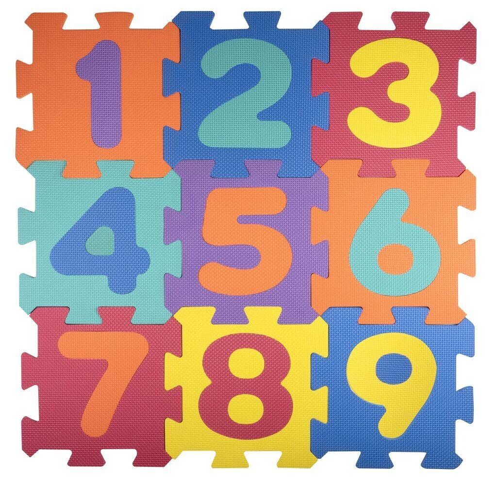 Let's Play Out Puzzle-Matte 9 teilig
