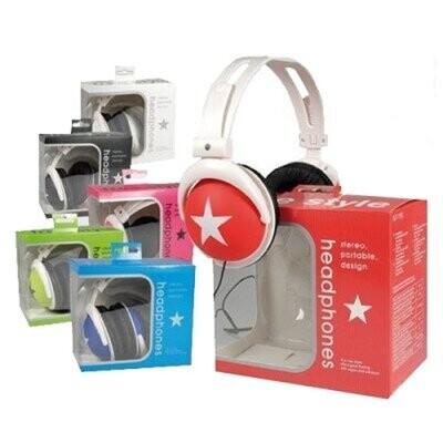 CHAMP Stereo Kopfhörer Stern XL