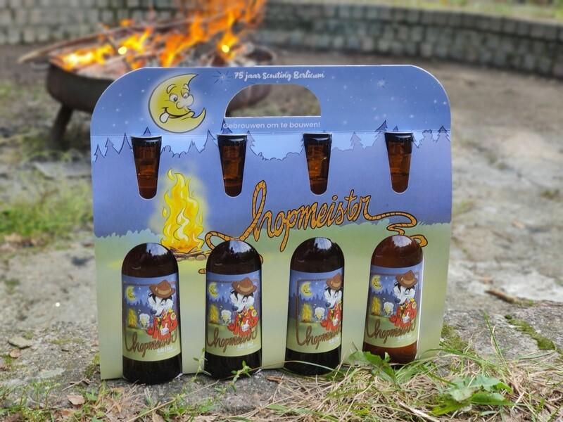 Hopmeister Jubilieum Bier   4 Pack