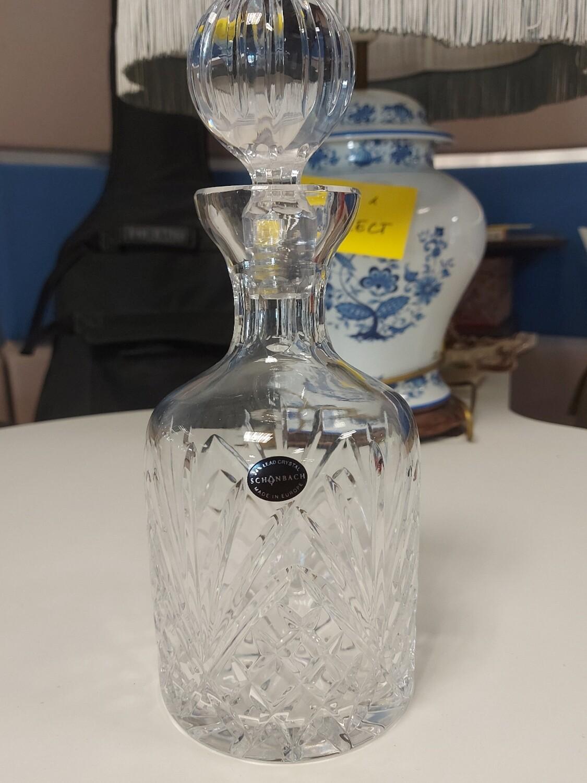 Carafe cristal taillé