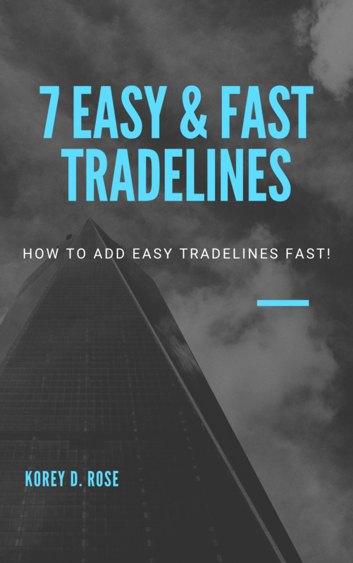 7 Easy & Fast Tradelines Ebook
