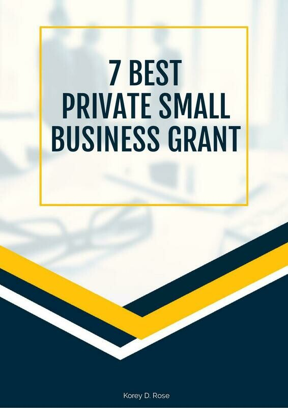 7 Best Private Small Business Grants