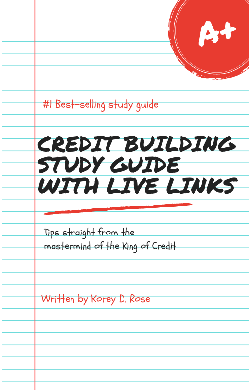 Your Credit Building Study Guide